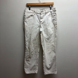 Size 10 St. Johns Bay White Jeans