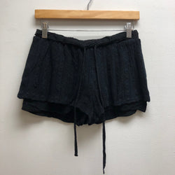 Size XL sophie rue Black Shorts