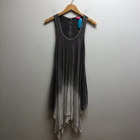 Size S sandiva gray & white Dress