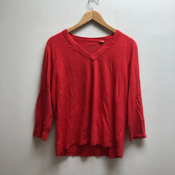 Chico's Size 2 Red Top