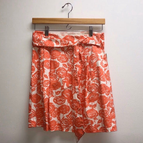 J.Crew Size 0 Orange Skirt