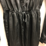 Missguided Size 4 Black Romper