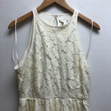 Size 6 Lauren Conrad LC Cream Dress