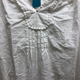 Women Within Size Small White Shirt