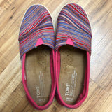 Toms Size 7.5 Pink Shoes