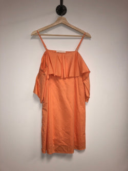 The Impeccable Pig Size Small Orange Dress
