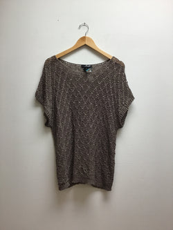 Willi Smith Size 1X Brown Top