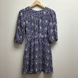 Size S willow & clay indigo & white Dress
