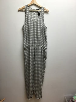 theory Size Medium white & black Jumpsuit