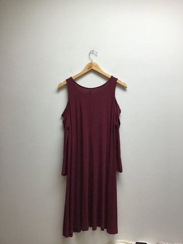 Old Navy Size Large maroon Dress