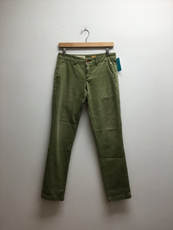 Size 25 pilcro (anthro) Olive Jeans