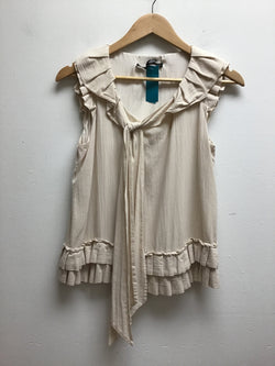 Robert Rodriguez Size 4 Cream Tank Top