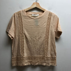 Forever 21 Size Medium beige/ pink tint T-Shirt