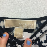 Size XS Michael Kors Blue/White Dress