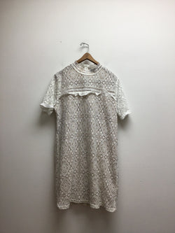 Fab'rik Size Large White Dress