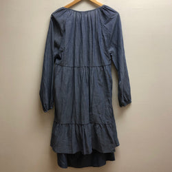 Time & Tru Size Large Denim Dress