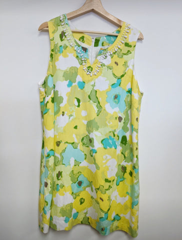 Ruby Rd Size XS Yellow Dress