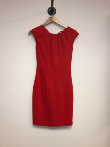 H&M Size 2 Red Dress