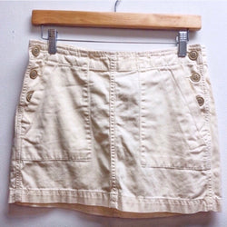 LUCKY Size 26 Cream Skirt