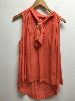 free people Size Small Peach Tank Top