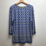 Ruby Rd Size Large Blue Top