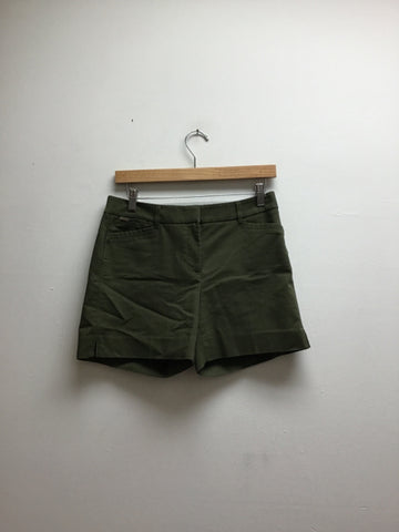 Size 2 White House Black Market Green Shorts