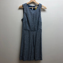 Size 4 Loft blue & white Dress