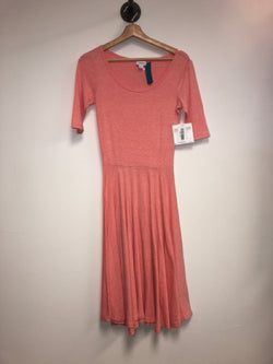 LuLa Roe Size XS Pink Dress