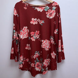Ultra Teeze Size 2x Red Top