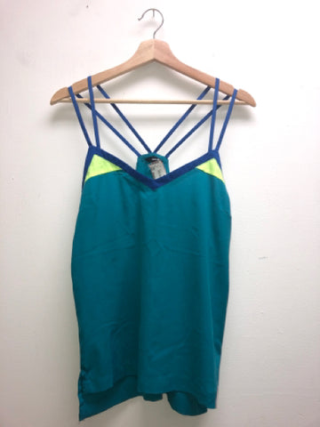 Hurley Size Medium Teal Tank Top