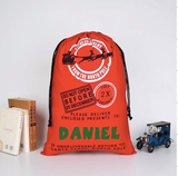 Customizable Santa Bag Christmas Gift Sack