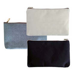 Blank Canvas Zipper Pouch
