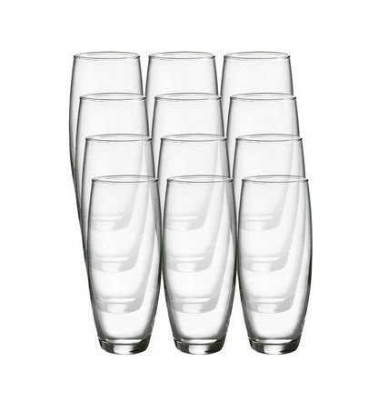 Blank Stemless Champagne Glass Flute