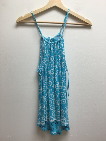 Crown & Ivy Size Small Blue Tank Top