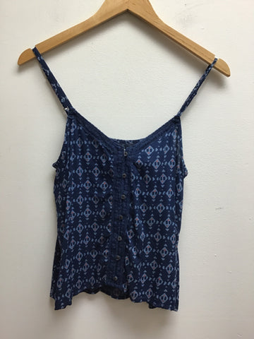 Hollister Size Small Blue Tank Top