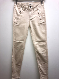 Zara Size 2 Cream Pants