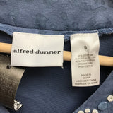 alfred dunner Size Small Blue Top