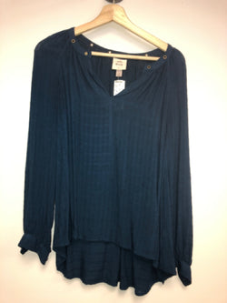 Knox Rose Size XS Dark Blue Top