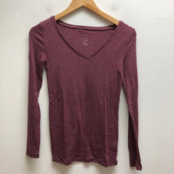 A New Day Size XS maroon Top