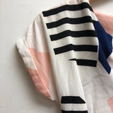 Size M Unbranded white, navy, pink Dress