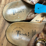 Think! Size 8.5 Pink Shoes