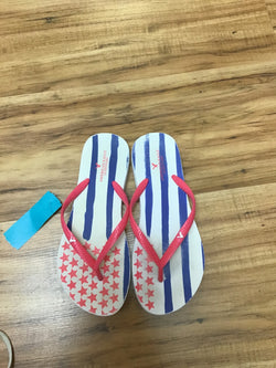 American Eagle Size 6 blue, pink, & white Shoes