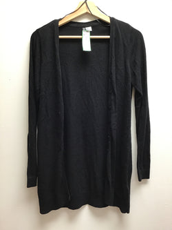 Size S divided Black Cardigan
