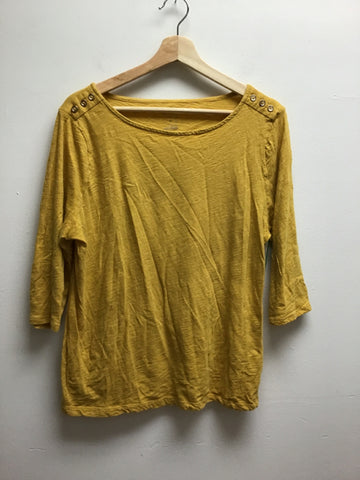 A New Day Size XL Mustard Top