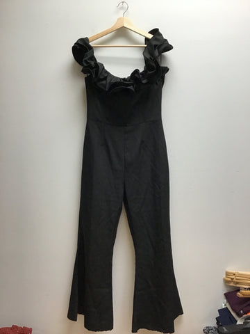 Tea & Cup Size Large Black Jumpsuit