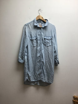 Size 12 H&M Chambray Dress