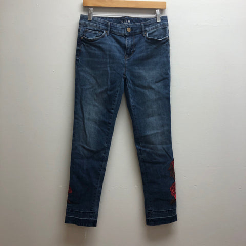 White House Black Market Size 2 Denim Pants