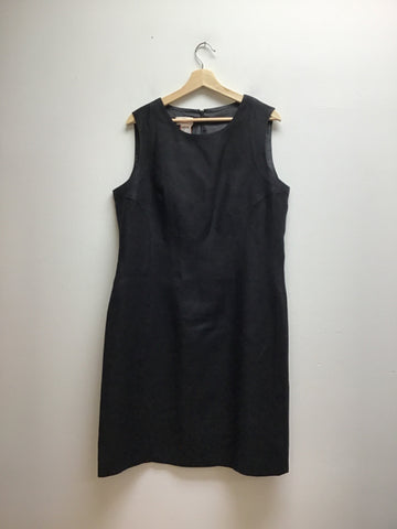 Talbots Size 16 Black Dress