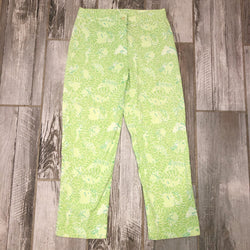 Lilly Pulitzer  Size 0 Green Pants