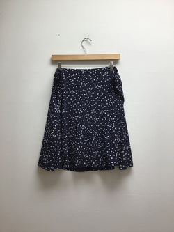 Size XL Susan Graver Blue Skirt